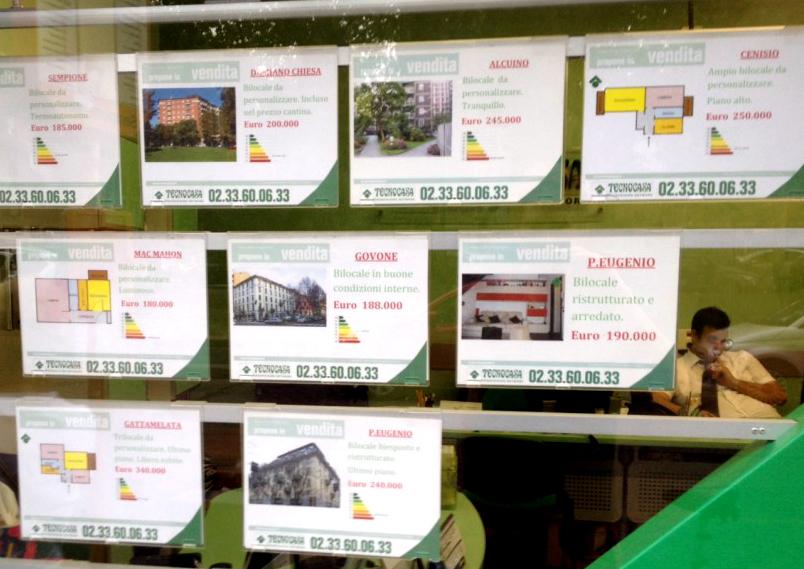 Obligación de llevar el certificado enegético a la inmobiliaria